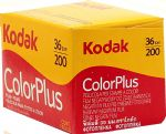 Kodak Color Plus 200 iso 36 exposure Colour Print Camera Film
